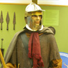 November 14th 2008, Bad Hombourg (Germany). A Roman soldier and various crossbows.